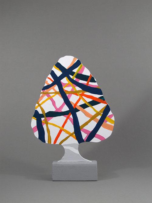 Wood sculptures by artist Merijn Hos