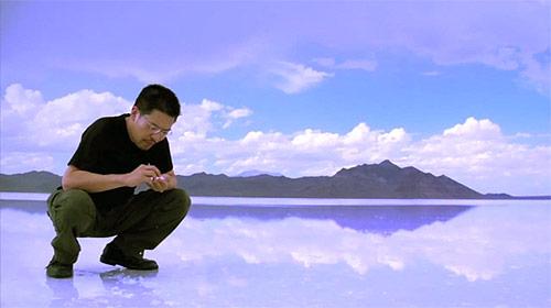 Motoi Yamamoto artist salt installation