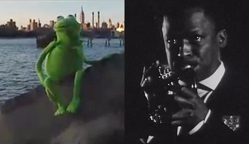 A Youtube Duet: Miles Davis improvising on LCD Soundsystem