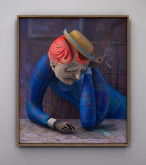 Artist painter Rafael Ochoa