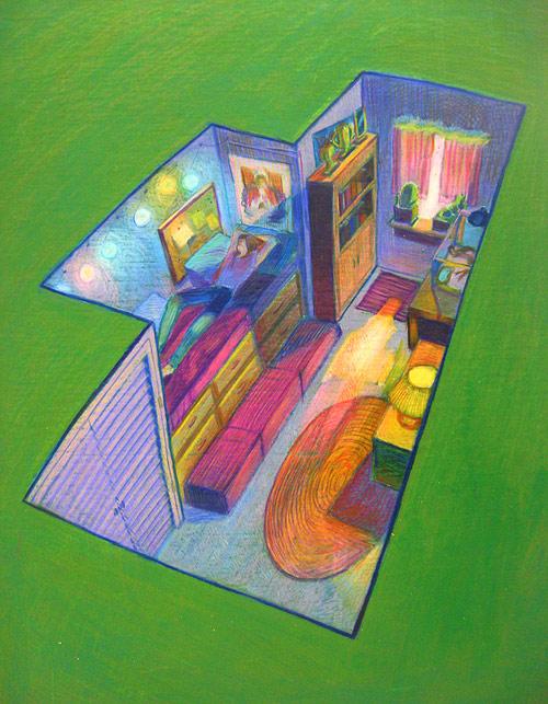 Artist illustrator Suzanne Geary