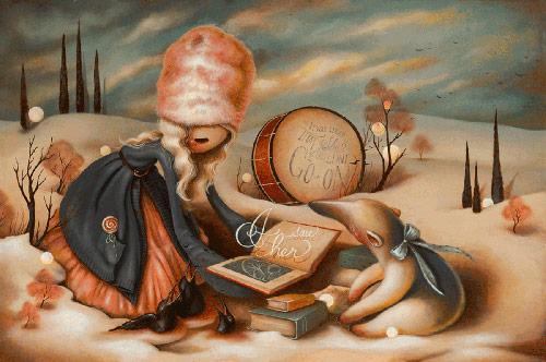 Artist painter Brandi Milne