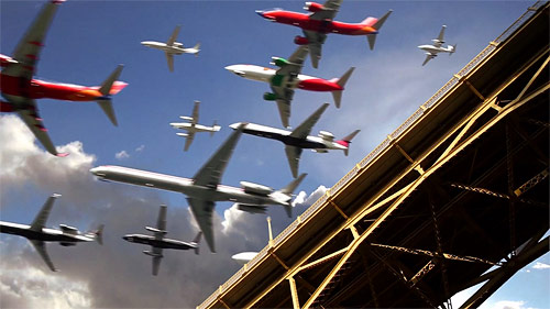 Five hours of Airplanes in 30 Seconds