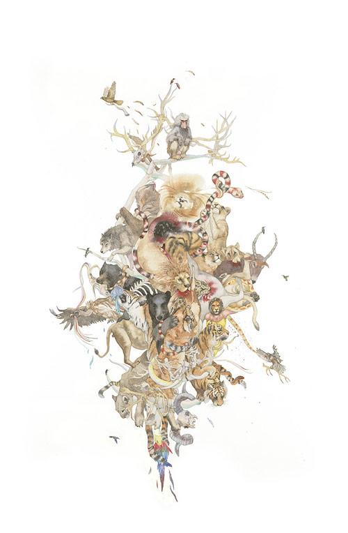 Artist painter Laura Ball