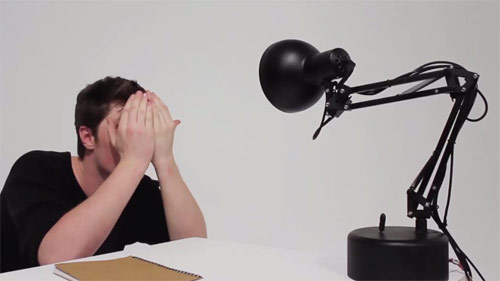 Pinokio robot lamp