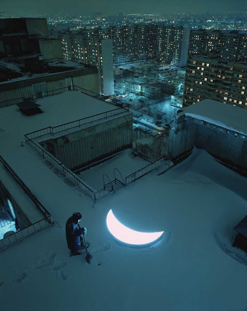 Private Moon by Leonid Tishkov and Boris Bendikov