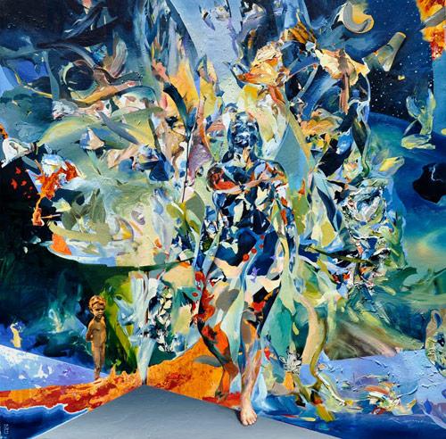 artist painter Reinier Gamboa