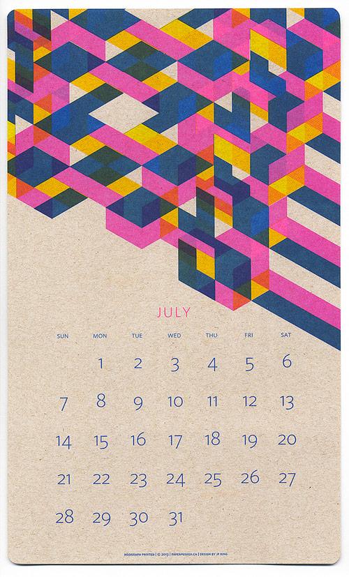 Risograph Calendar Giveaway