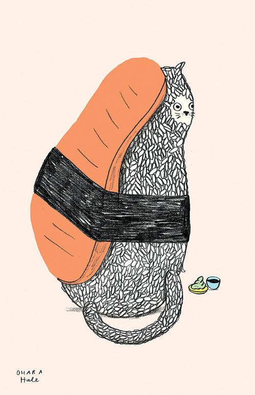 Artist illustrator Ohara Hale