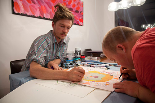 Tom and James Draw