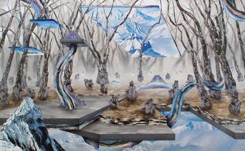 artist Adam Friedman