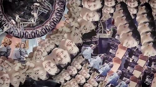 Bonobo Cirrus music video by Cyriak