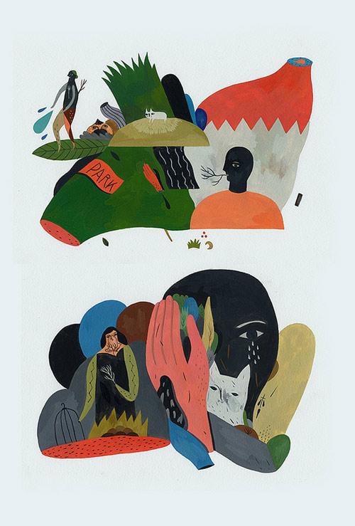 Illustrator Inca Pan