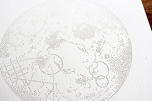 Pinprick art by Artist Miso