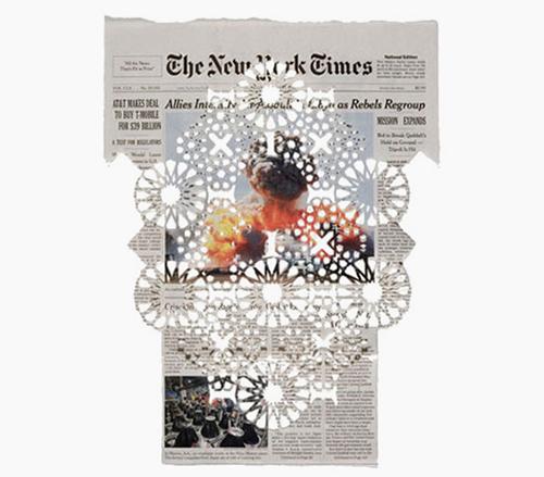 Donna Ruff newspaper cuts