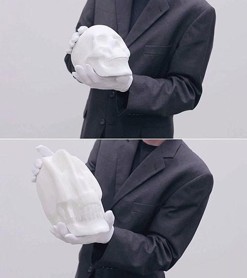 Flexible Paper Sculptures by artist Li Hongbo