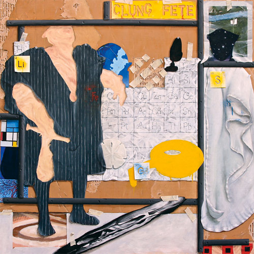 Artist painter Jeffrey Deane Hall