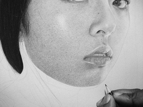 Drawing by artist Kelvin Okafor