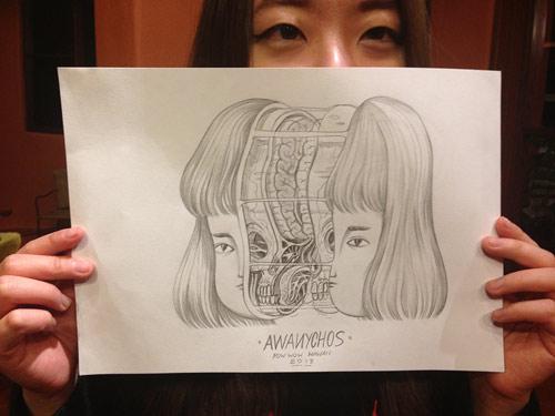 Nychos and Andrea Wan