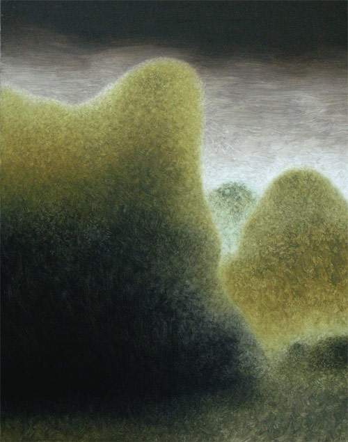 Artist painter Alessandro Keegan