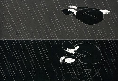 Drawings by artist Daehyun Kim Moonassi