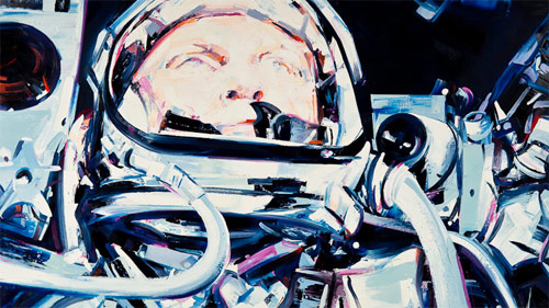 Artist painter Michael Kagan for Billionaire Boys Club