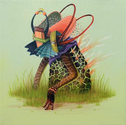 Artist painter El Curiot