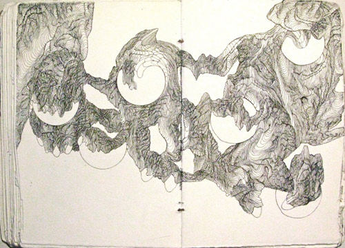 Drawings by artist Beth Brown