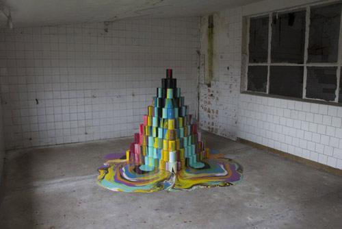 Artist Brad Downey