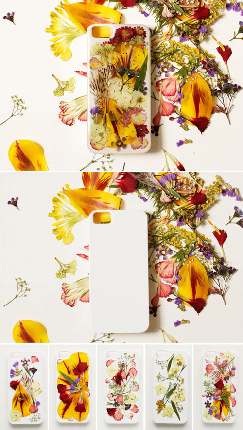 DIY Pressed Flower iPhone Case Tutorial