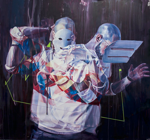 Drew Young artist based in vancouver