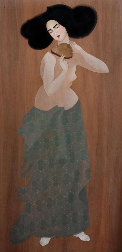 Artist painter Hayv Kahraman