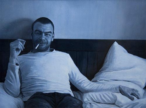 Artist painter Jonathan Dalton