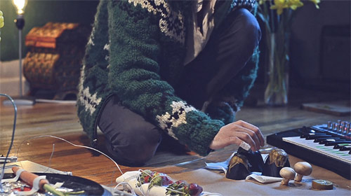 j.viewz plays Teardrop with vegetables