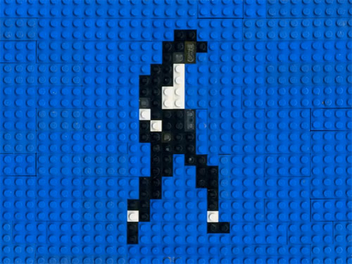 Lego Dance animation by Annette Jung