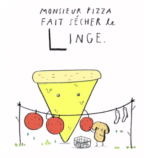 L ABC de Monsieur Pizza by Ohara Hale