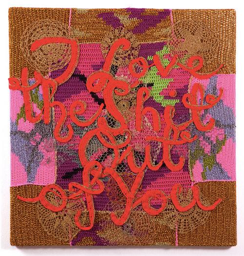 artist olek crochet
