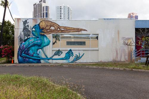 Pow Wow Hawaii 2013 / Murals