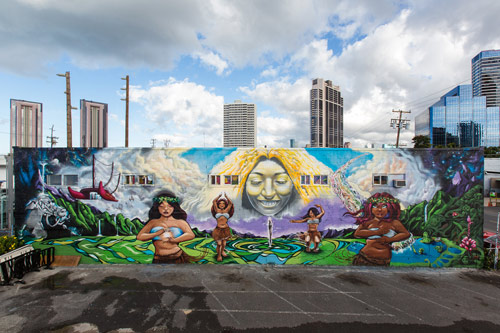 Pow Wow Hawaii 2013 / Murals