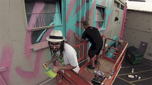 Rone x Wonderlust / mural time-lapse