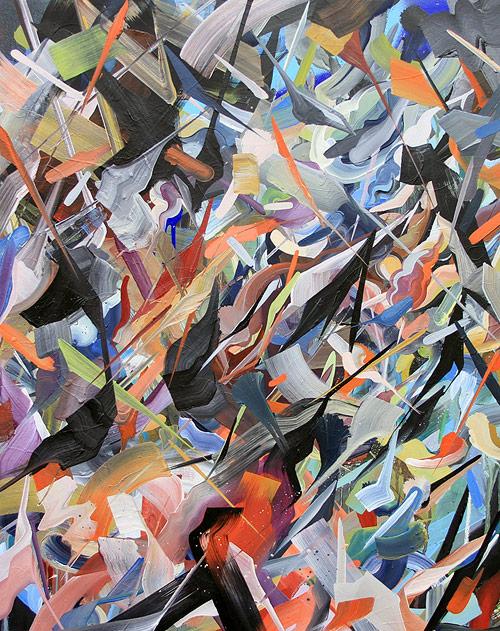Artist painter Victor Reyes