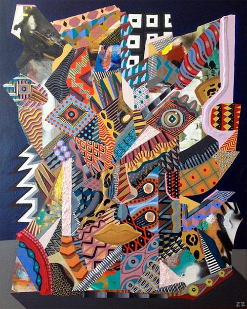 Artist painter Zio Ziegler