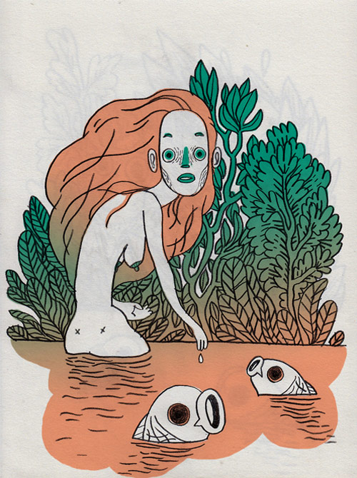 Illustrator Charlotte Dumortier