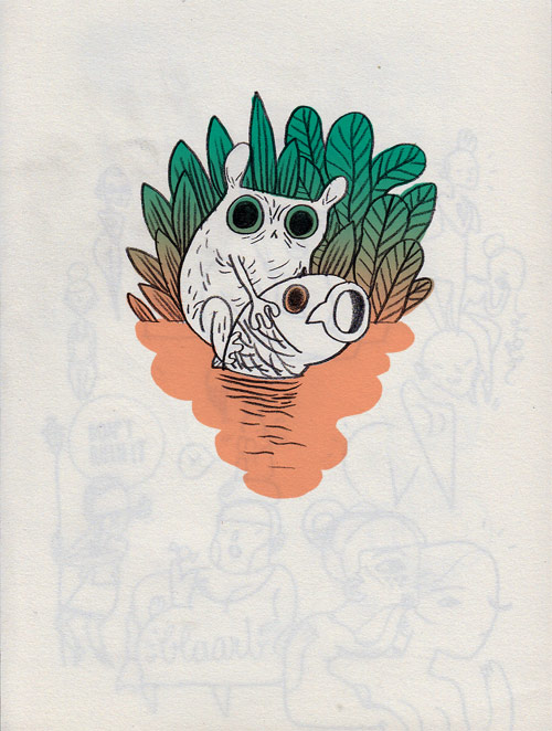 Illustrator Charlotte Dumortier