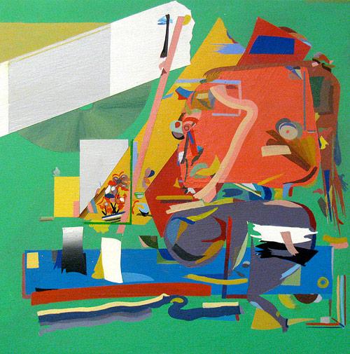 Artist painter DMetrius Rice
