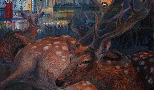 Jaroslava Klepikova drawings and paintings