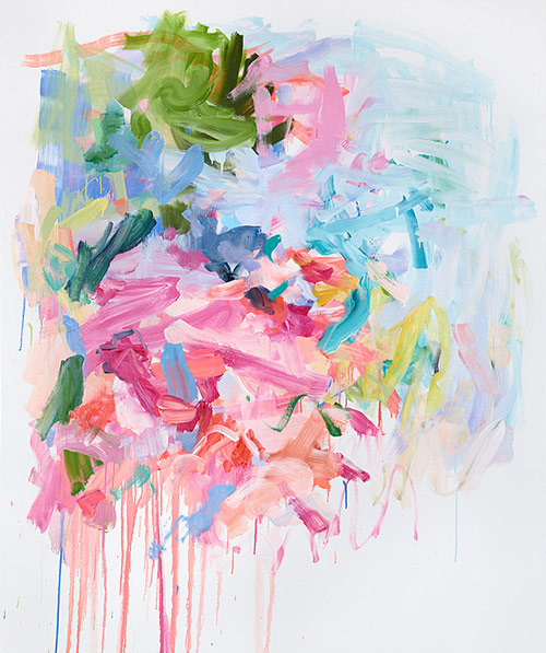 Painter Yolanda Sanchez