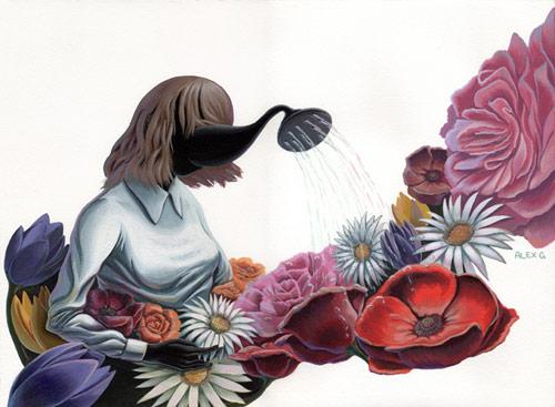Paintings by artist Alex K Gardner