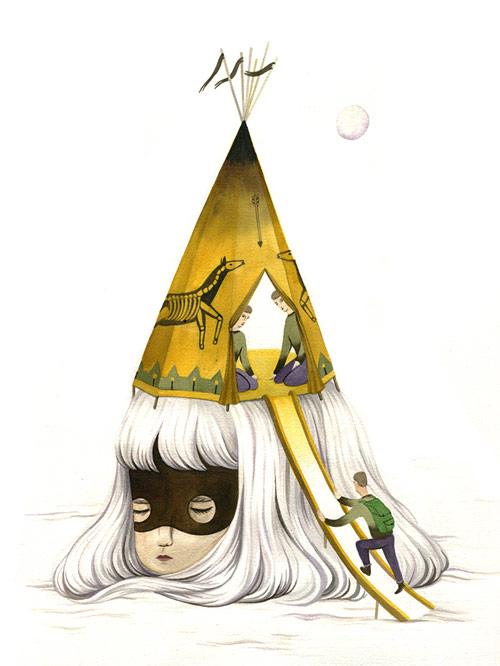 Artist Andrea Wan