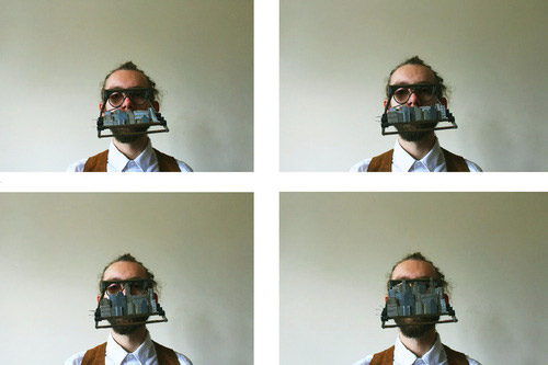 City Style Anti-Face Recognition Goggles